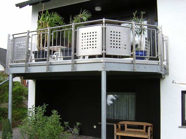 balkone aus stahl lieferanten carprola for. Black Bedroom Furniture Sets. Home Design Ideas